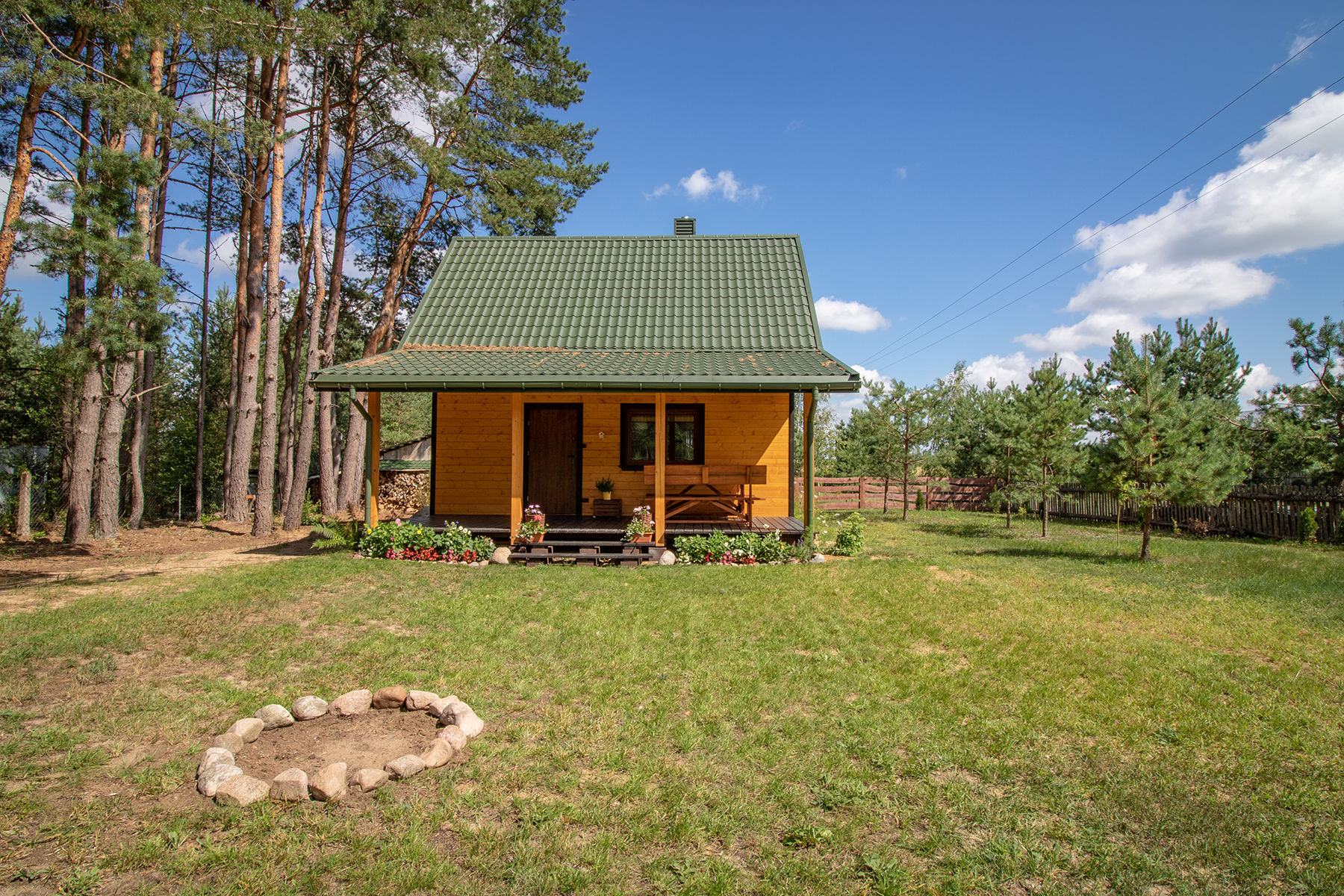 dom nad zalewem Siemianówka - dom południe