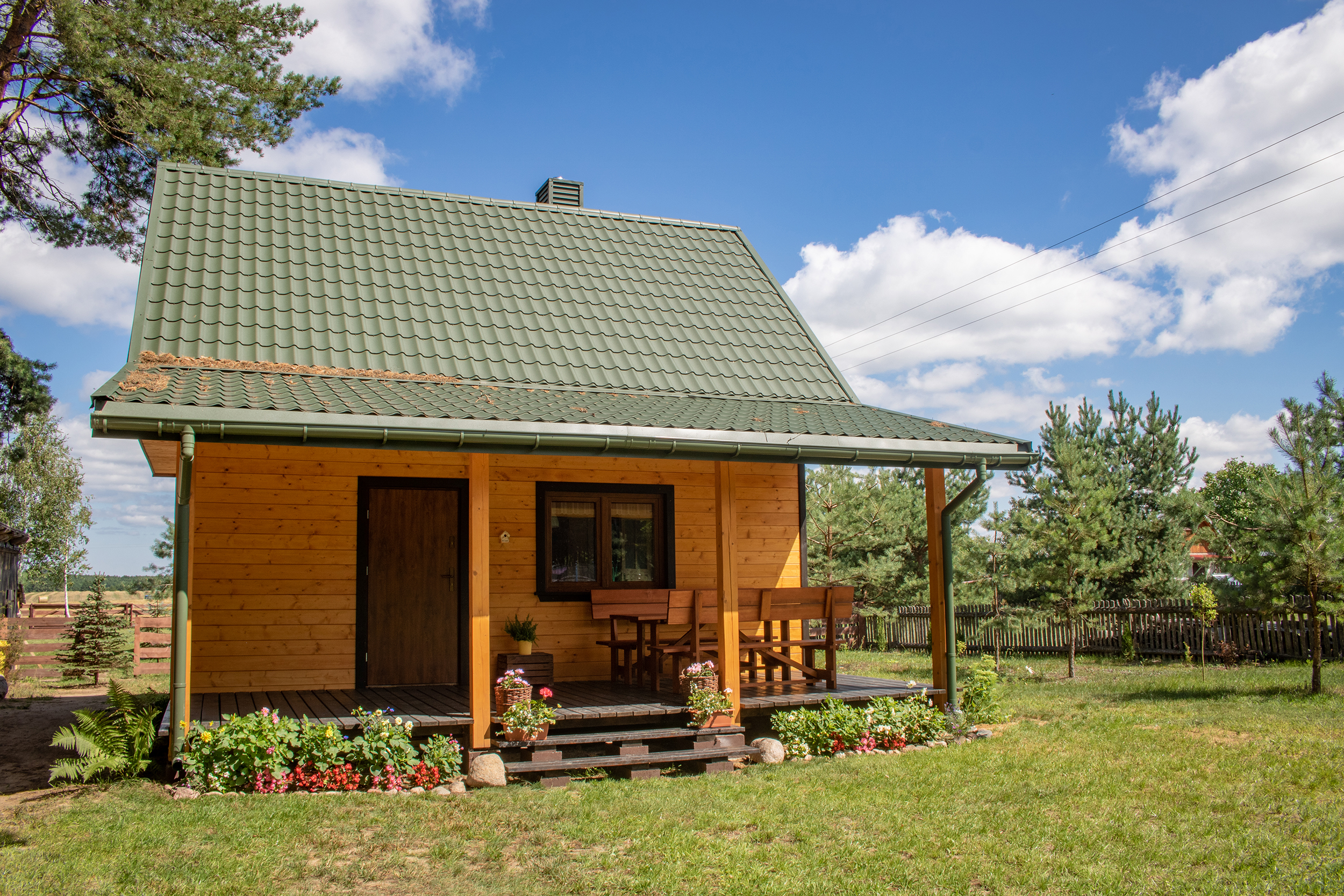 dom nad zalewem siemianówka - dom północ