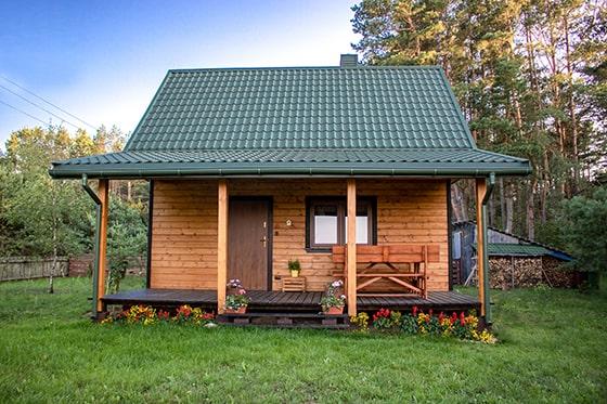dom północ zalew siemianówka