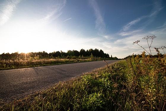 nocleg zalew siemianówka krajobraz